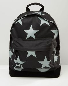9d10cc5cee1 Image 1 of Mi-Pac Stars XL Backpack In Black Back To Black, Backpack
