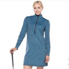 Kevan Hall Golf Dress⛳️ Kevan Hall Sport golf dress that comes with detached little pink shorts to wear underneath. It's approximately 35' long, measured this from the top of the shoulders. I have 1 x-small left. This still has the tags attached. Perfect condition!!!⛳️ Kevan Hall Sport Dresses