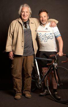 Con Dario e il mia bici Pegoretti
