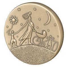 Ronde de la vie - Médaille des Monnaies de Paris - Bronze - 86 €