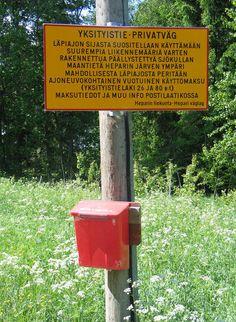 Suomessa on yli 300 000 km yksityistietä-kuka niillä saa ajaa?