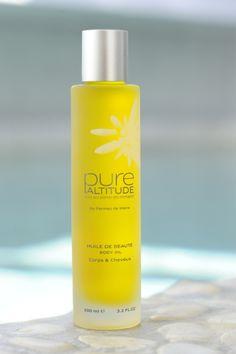 Pure Altitude : Huile de Beauté - Body Oil