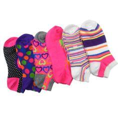 Women Fashion No Show Socks 6-Pack, Neon Rainbow Hearts Love Dots Fun Socks (AHB-3103) Teeheesocks,http://www.amazon.com/dp/B00H8W4PYK/ref=cm_sw_r_pi_dp_XBDQsb060RDDEPYW