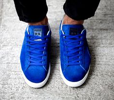 puma suede royal blue