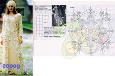 Яндекс.Фотки crochet coat motif pattern