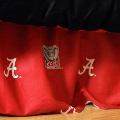Alabama Crimson Tide Team Spirit Bed Skirt