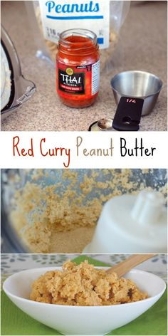 Make your own Red Curry Coconut Peanut Butter - it's easier than you think!