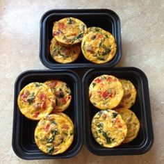 Quick and Easy Egg Muffins - Get Fit With Nikki