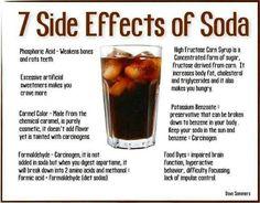 Effects of soda