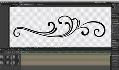 Create Animated Flourishes in After Effects YouTube Tutorial