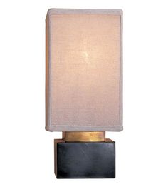 Visual Comfort Studio Clodagh Chelsea Rectangle Sconce in Bronze with Linen Shade CL2002BZ-L | Visual Comfort Lighting Lights | Visual Comfort | Visual Comfort Lighting | Alexa Hampton | Visual Comfort Sconces | Lighting New York | Lighting Fixtures