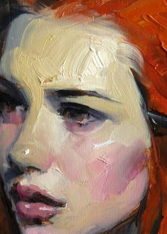 """""""Citrine"""" oil painting on hardboard by John Larriva. Figure Painting, Painting & Drawing, Painting Trees, Oil Painting Texture, Painting Wallpaper, Painting Canvas, Painting Abstract, Ap Art, Portrait Art"""