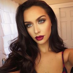 Found this pic on my camera from my Cranberry Craving color series video! Full makeup details on that video & my blog! My favorite look for fall NEW video coming tomorrow! XO http://www.youtube.com/watch?app=desktop&persist_app=1&v=yfdb3A1Hilw