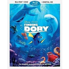 Finding Dory (Blu-ray + DVD + Digital HD) also want Finding Nemo so maybe there is a combo Blu-Ray pack.