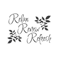 Bathroom Wall Decals Soak Relax Unwind Rejuvenate Quote Wall - Wall decals relax