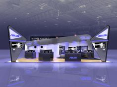 ASUS - Exhibition Stand Design on Behance
