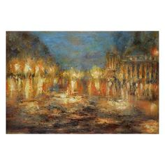 Lights Of The City by Matthew Williams: 60 x 40-Inch Wall Art