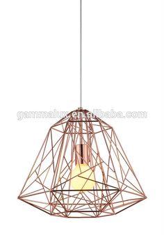 New Design E27 Wire,Pendant Lighting,Diamond Pendant Bird Cage Light,Copper Lamp Shade Photo, Detailed about New Design E27 Wire,Pendant Lighting,Diamond Pendant Bird Cage Light,Copper Lamp Shade Picture on Alibaba.com.