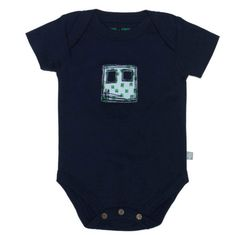 Cute little Robot onesie from Finn + Emma. Perfect for your little boy or girl.