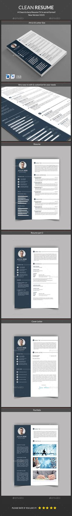 Resume Template Psd Download Here HttpGraphicriverNetItem