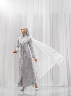 gaun pengantin glamor mewah