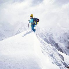 The Gore Range revealed it's magical powers last week. Here Brittany soaks in the magnificence.  PC: Dave Bourassa  #14erskiers #gorerange #ski #skiing @lasportiva @backcountryaccess @smithoptics @blackdiamond @patagonia @avalancheproject @lekiusa @intuitionliners @tecnicaskiboots #hshive #honeystinger #liveskirepeat #liveyourdream #skilikeagirl