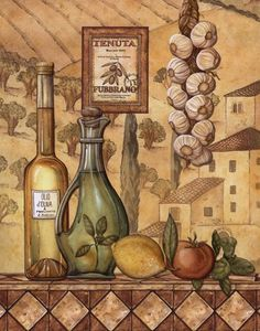 Flavors Of Tuscany IV - Mini Fine-Art Print by Charlene Audrey at FulcrumGallery.com