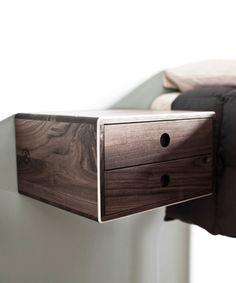 David Rasmussen's Modern Floating Side Table at dotandbo.com