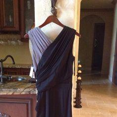 Brand new Tadashi Shoji dress. Never worn! Black and silver above knee length cocktail dress. Tadashi Shoji Dresses