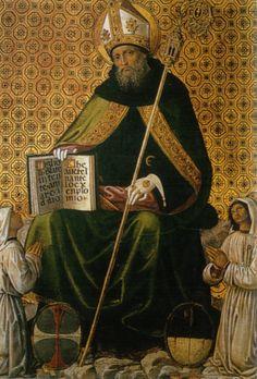 Gonfalon of Saint Augustine / Gonfalone di Sant'Agostino / Confalón de San Agustín // Pinturicchio // Perugia, Galleria Nazionale dell'Umbria
