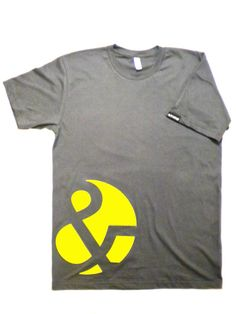 ampersand tee--but a cooler ampersand.