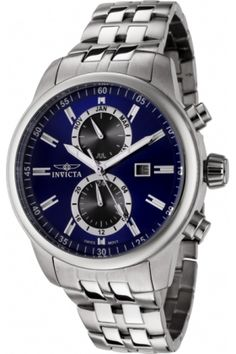 Invicta Men's 0251 II Collection Stainless Steel Watch from Invicta - $99.95 - trendme.net