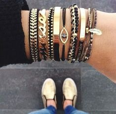 Trendy jewelry 2017 Discover all the jewelry trends of the season. - Trendy jewelry 2017 Discover all the jewelry trends of the season. We are delighted to present you - Jewelry Trends, Jewelry Accessories, Fashion Accessories, Fashion Jewelry, Women Jewelry, Jewelry Ideas, Girls Jewelry, Gold Fashion, Arm Candy Bracelets