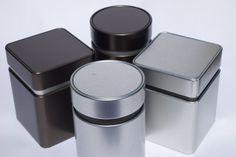 Moderne Designer Vorratsdosen // Blechdosen unter http://www.dosenwelten.de