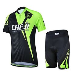 Free Fisher Kids Boys Girls Cycling Jersey Set Short Sleeve Jersey Padded  Shorts Racing L - 5c0794ec9