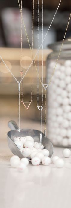 Be on trend with y-necklaces in every color. Click through to shop!