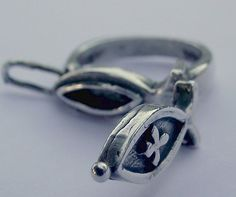 Vintage Silver ring Secret compartment  Eva's by EvasCollections, $29.99