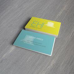 Eh! Marketing Promocional . Cartões de Visitas / Business Cards