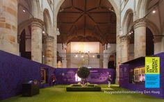 Een tuin in de kerk! / A garden in a church! Constantijn and Christiaan Huygens exhibition - Grote Kerk The Hague, Netherlands