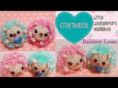I am back after a little break and I have an adorable little loomigurumi hedgie for you guys to make. I have been wanting a real hedgehog for. Loom Band Patterns, Rainbow Loom Patterns, Rainbow Loom Creations, Rainbow Loom Bands, Rainbow Loom Charms, Rainbow Loom Bracelets, Rubber Band Crafts, Rubber Bands, Loom Animals
