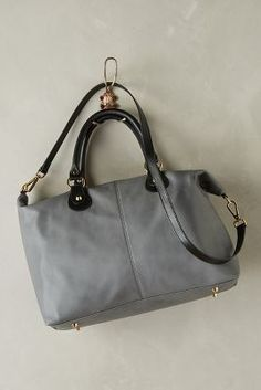 Bhailiu Savina Leather Satchel Grey One Size Bags #anthrofave #sale