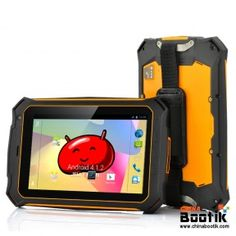 Rugged Quad Core Android Tablet - 7 Inch Gorilla Glass 2 Screen, IP67 Waterproof Rating, Shockproof + Dust Proof #ruggedtablet #ruggedandroid