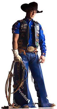 Retired bull rider Mike White....love, love, love him.