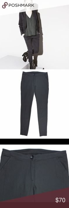 """New READY TO FISH Dust Gray Skinny Chino Pants Ready to Fish is a high end European brand - check them out via Google. These are a size euro 36. Approx a size 6 USA. These dust gray skinny pants from ready to fish feature a subtle stretch in the material. Very flattering fit. The material is that of a chino brushed cotton with a hint of stretch. Made of a cotton blend. Measures: waist: 30"""", Rise: 9"""", Hips: 36"""", Inseam: 31"""" Ready To Fish Pants Skinny"""