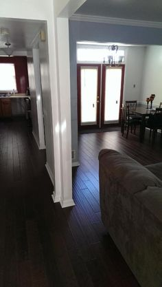 """""""It looks great, was relatively affordable and will add a lot of value to our home.""""  [Potomac Plank Handscraped]"""