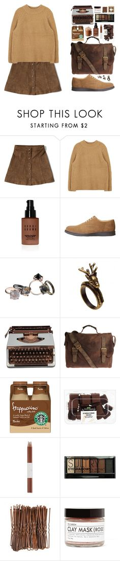 """""""Без названия #99"""" by sinyukovayulya ❤ liked on Polyvore featuring Abercrombie & Fitch, Bobbi Brown Cosmetics, MANGO, Made Her Think, John Varvatos, Faber-Castell, Boohoo, Fig+Yarrow and Le Labo"""