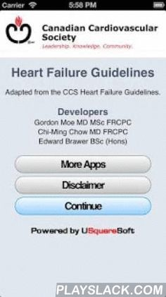 CCS Heart Failure Guidelines  Android App - playslack.com , CCS is retiring this app - Get the new iCCS all-in-one app today! It has the latest guidelines for HF, AF, CRT, Lipids, AP, and Drive/Fly.The CCS Heart Failure Guidelines App is based on the updated 2012 society Heart Failure (HF) guidelines and the 2013 Cardiac Resynchronization Therapy (CRT) guidelines of 2013. This App facilitates the adoption of the CCS Heart Failure guidelines into daily clinical practice by healthcare…