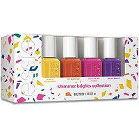 Essie Shimmer Brights 4 Pc Mini Set