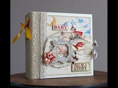 *SOLD* Baby Girl 6x6 Mini Album