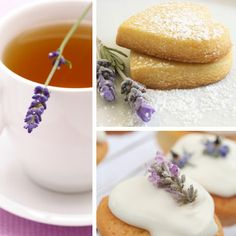 Lavender recipes....haven't even checked out the site yet, but man those cookies look tasty!